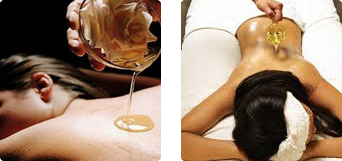 Massage with Hot Essential Oil Shanti - Art of Healing - Holistic Center | Marbella - Puerto Banus
